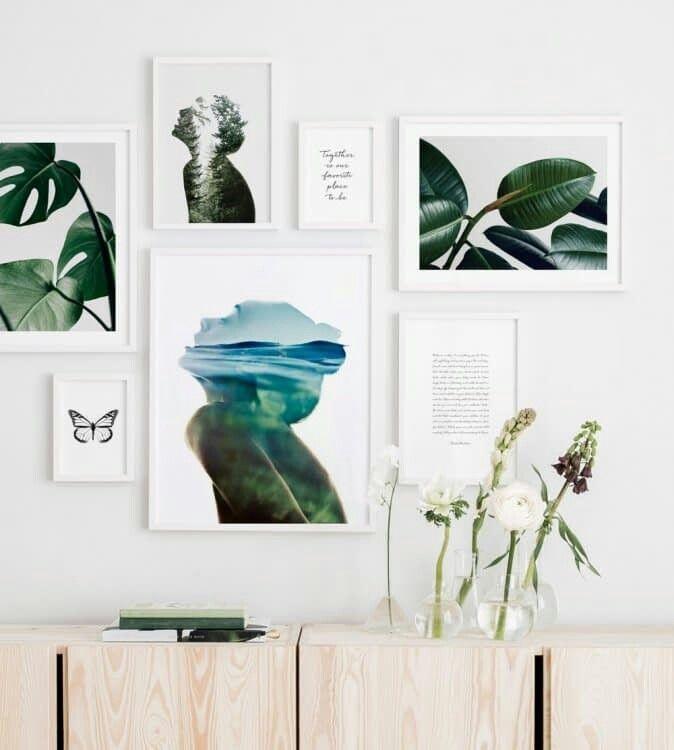 Immagine su cornici di Elisabetta Merchiori Muro di