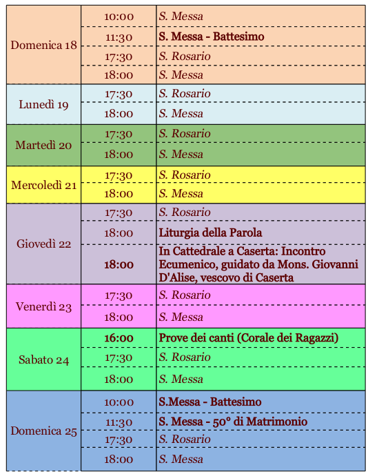 Calendario Cattolico.Calendario Cattolico Calendario 2020