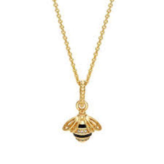 1634d436f Authentic Pandora Queen Bee Pendant Charm with #supplies @EtsyMktgTool  #pandorashine #pandoraqueenbee #queenbeependant #queenbeecharm
