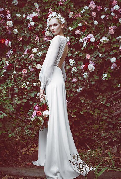 Fall 2015 Wedding Dress Trends | Pinterest | Sleeved dress, Stone ...