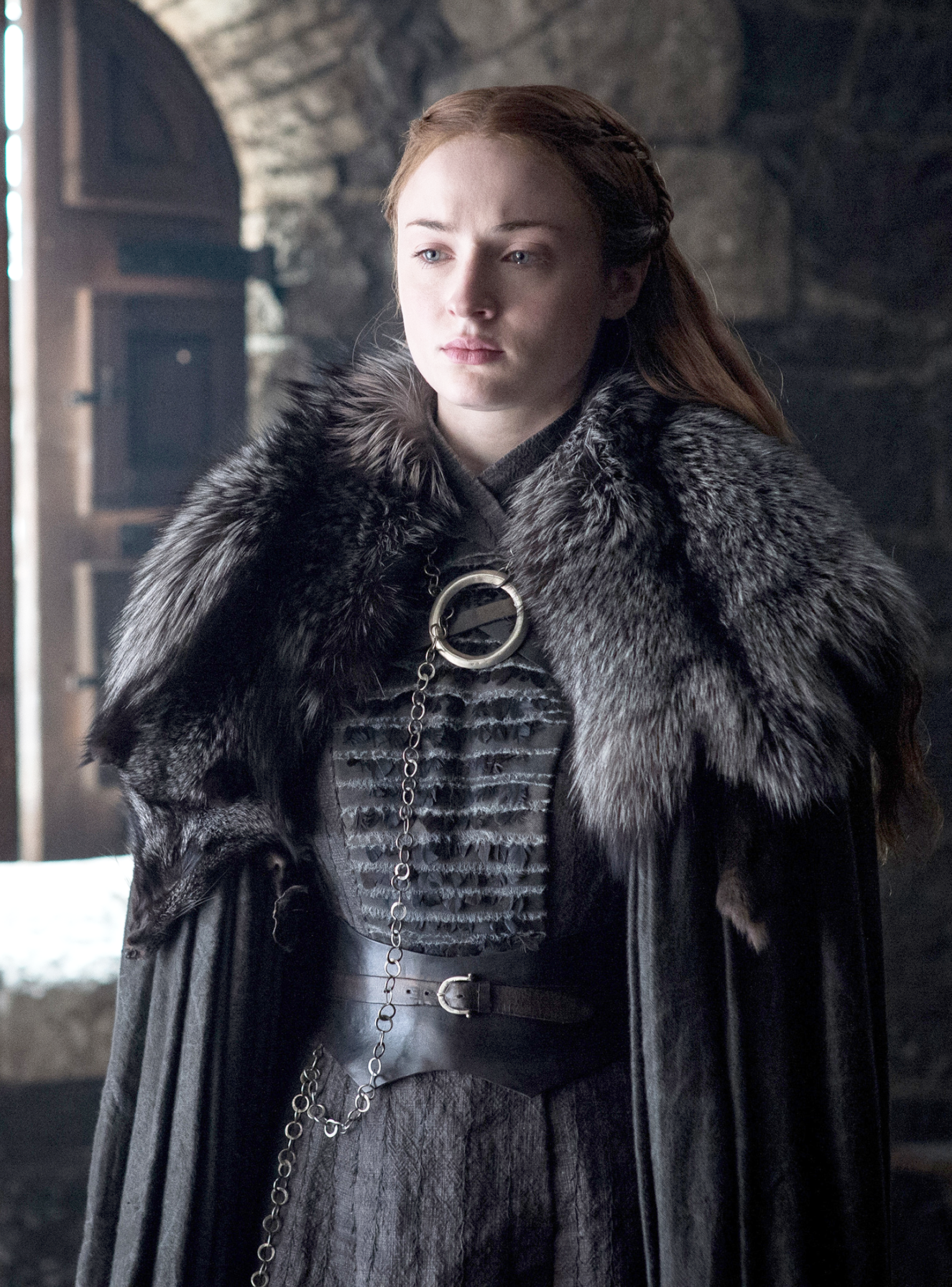 """Sophie Turner Says This Stark Sister Drama Is """"Like A"""
