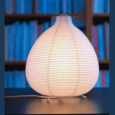 Ikea Vate Table Lamp Light Mood Asian Rice Paper