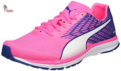Puma Ignite Disc Wn's - Chaussures Running - Femme - Multicolore (Dazzling Blue/Black/Mint Leaf) - 38 EU (5 UK) ABC34j