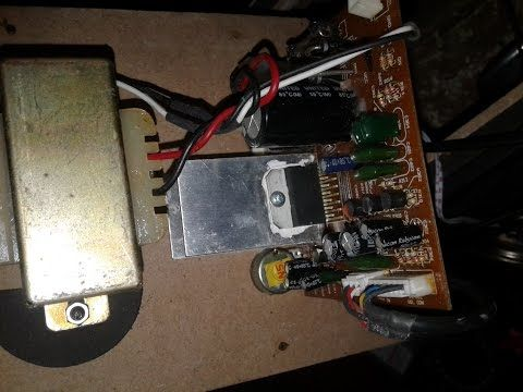 2.1 Power Amplifier using TDA7377 - Electronic Circuit ...