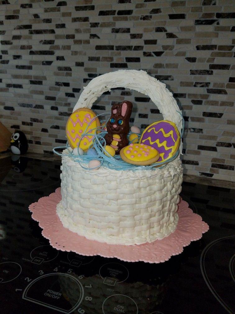 easter basket cake ideas