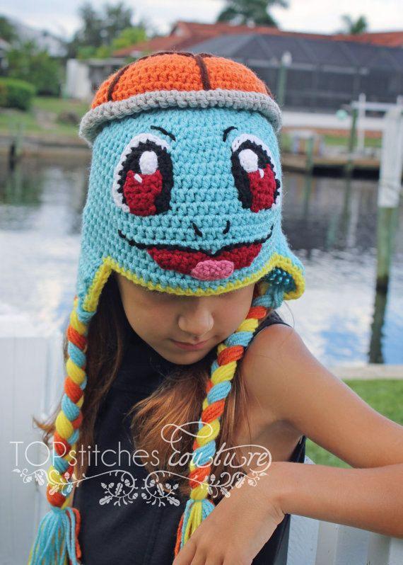 Pokemon Squirtle Crochet PDF Pattern, Squirtle Crochet Tutorial ...