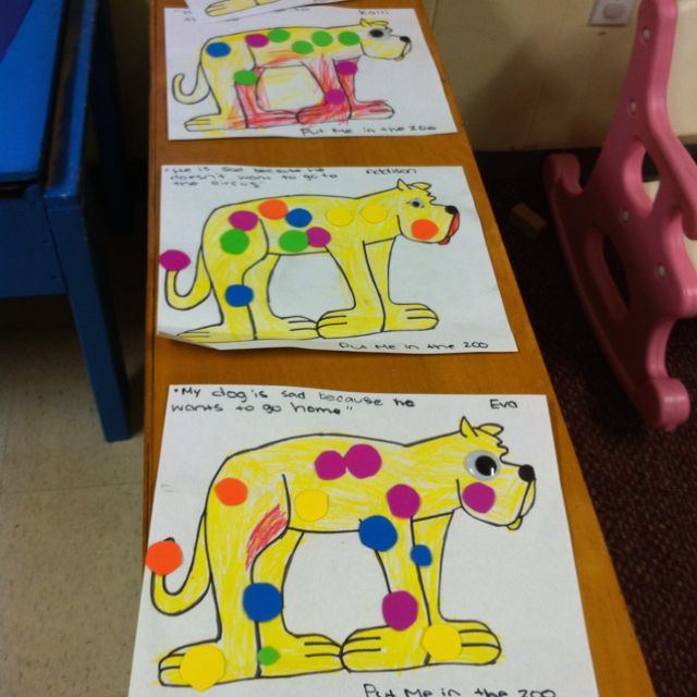 Put me in the zoo craft almost forgot about this book for Dr seuss put me in the zoo coloring pages