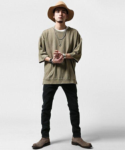 ヴィンテージライクポンチョTee(Tシャツ/カットソー)|nano・universe(ナノユニバース)のファッション通販 - ZOZOTOWN