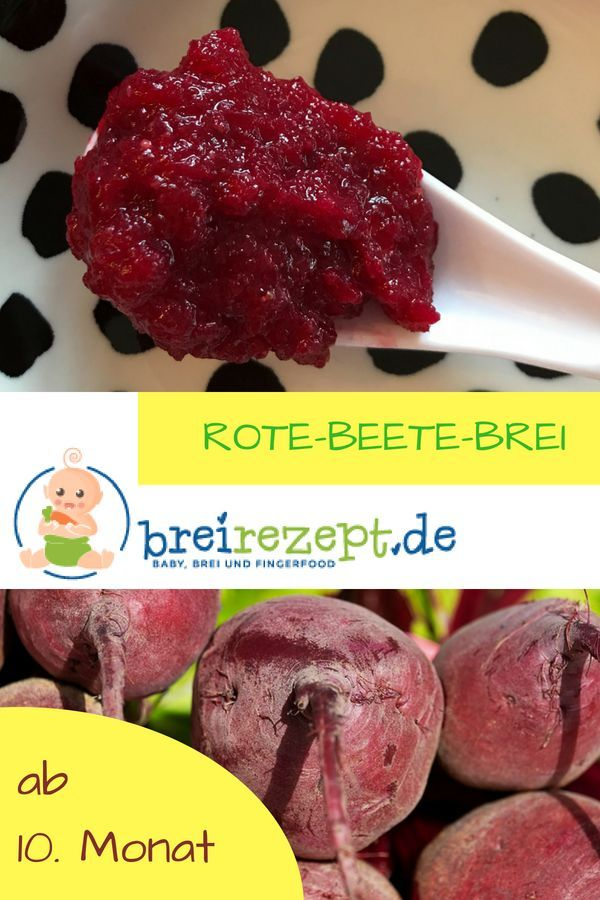 Rote Beete FГјr Baby