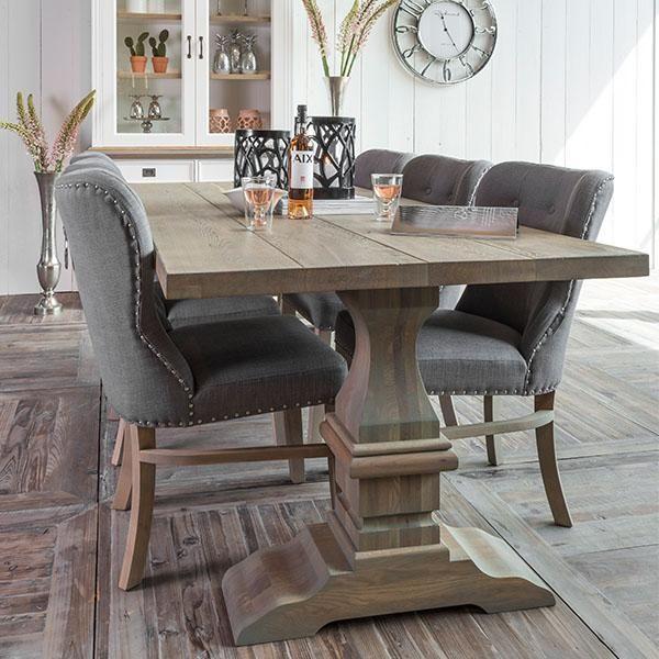 Exceptionnel Hoxton Oak Farmhouse Dining Table