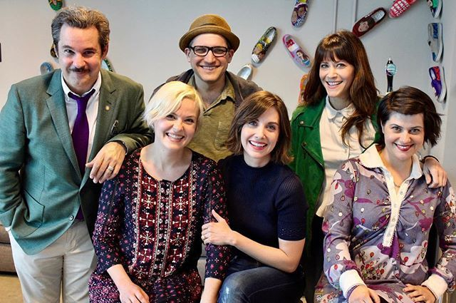 by pftompkins / Paul F Tompkins: Ep 116 of Spontaneanation has ALISON BRIE! With Kimmy Gatewood, Rebekka Johnson & Jackie Tohn, all of the new Netflix series GLOW! Eat it up, turnbuckle fans!.  location: . date: 1497286754