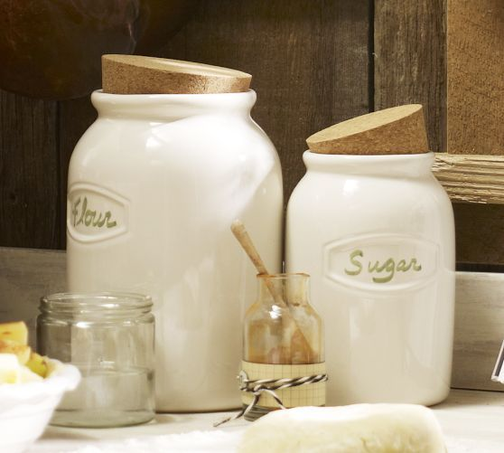 Love These Rhodes Canisters Pottery Barn Pottery Barn Kitchen