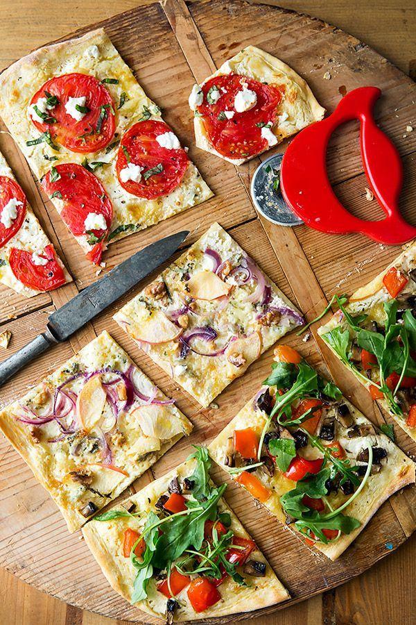 Gemüse-Flammkuchen: Herzhaft und knusprig - Madame Cuisine