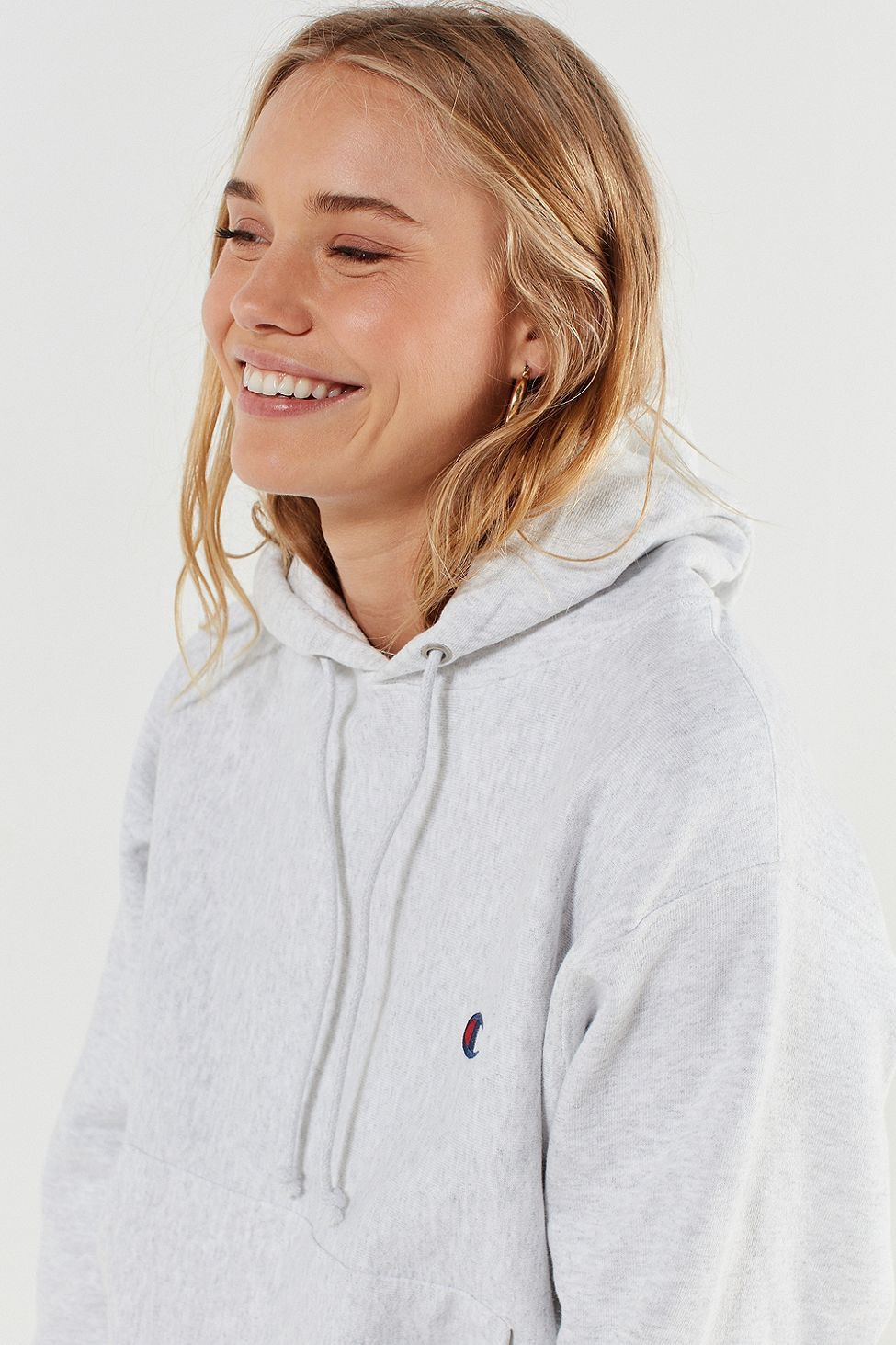 Urban Outfitters Champion Reverse Weave Logo Hoodie Sweatshirt S Fashion Champion Clothing Sweatshirts Hoodie [ 1463 x 975 Pixel ]