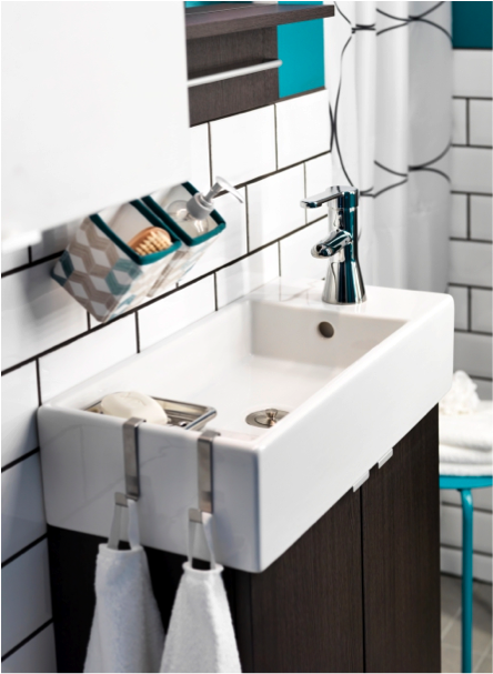 Work Small Miracles In Your Small Bathroom With This Lillangen Sink