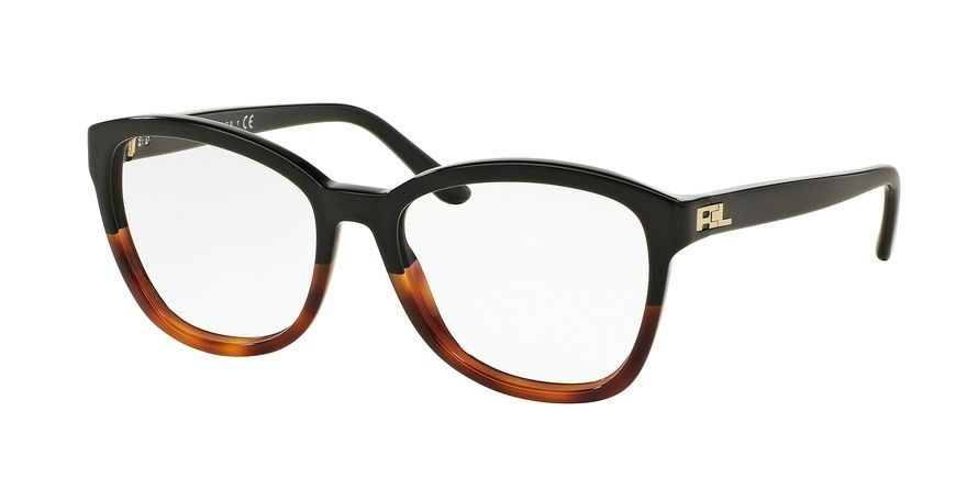 115.83$  Buy now - http://vibgk.justgood.pw/vig/item.php?t=myvsf7349256 - Ralph Lauren 0RL6142 Eyeglasses Black Gradient Havana 5581 Size 53mm