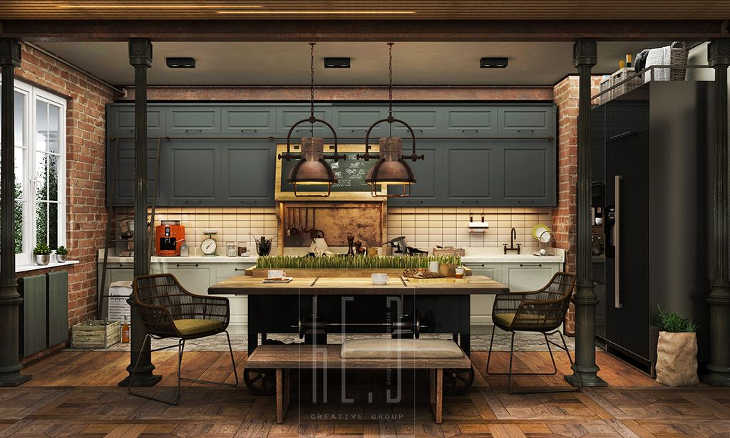 3 Stunning Homes With Exposed Brick Accent Walls