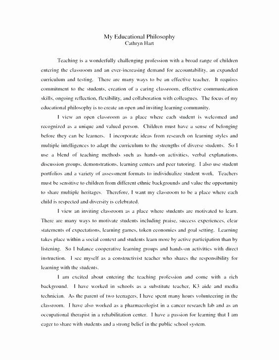 Personal Philosophy Essay Unique Petition 2017 What I Philosophical Reflective Example About