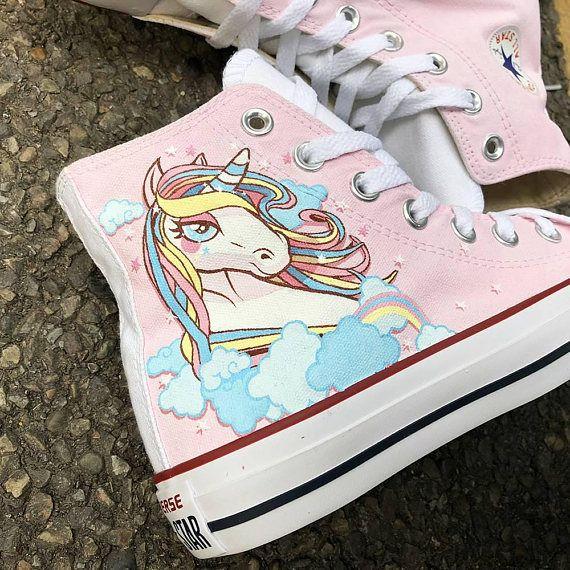 7b82cac6b77a2 Custom Unicorn Shoes, Custom Unicorn Sneakers, Custom Unicorn ...