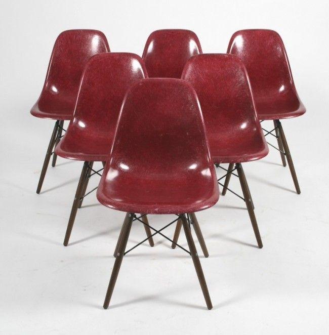 RetroAge | 6 Cadeiras Eames FiberGlass DSW