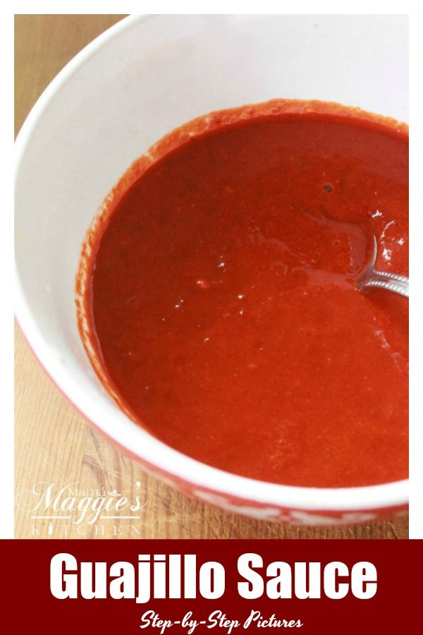 Guajillo Sauce [step-by-step pictures] #easymexicanfoodrecipes