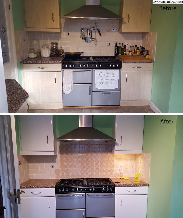 Kitchen doors cabinets wrapped with vinyl before and after ...