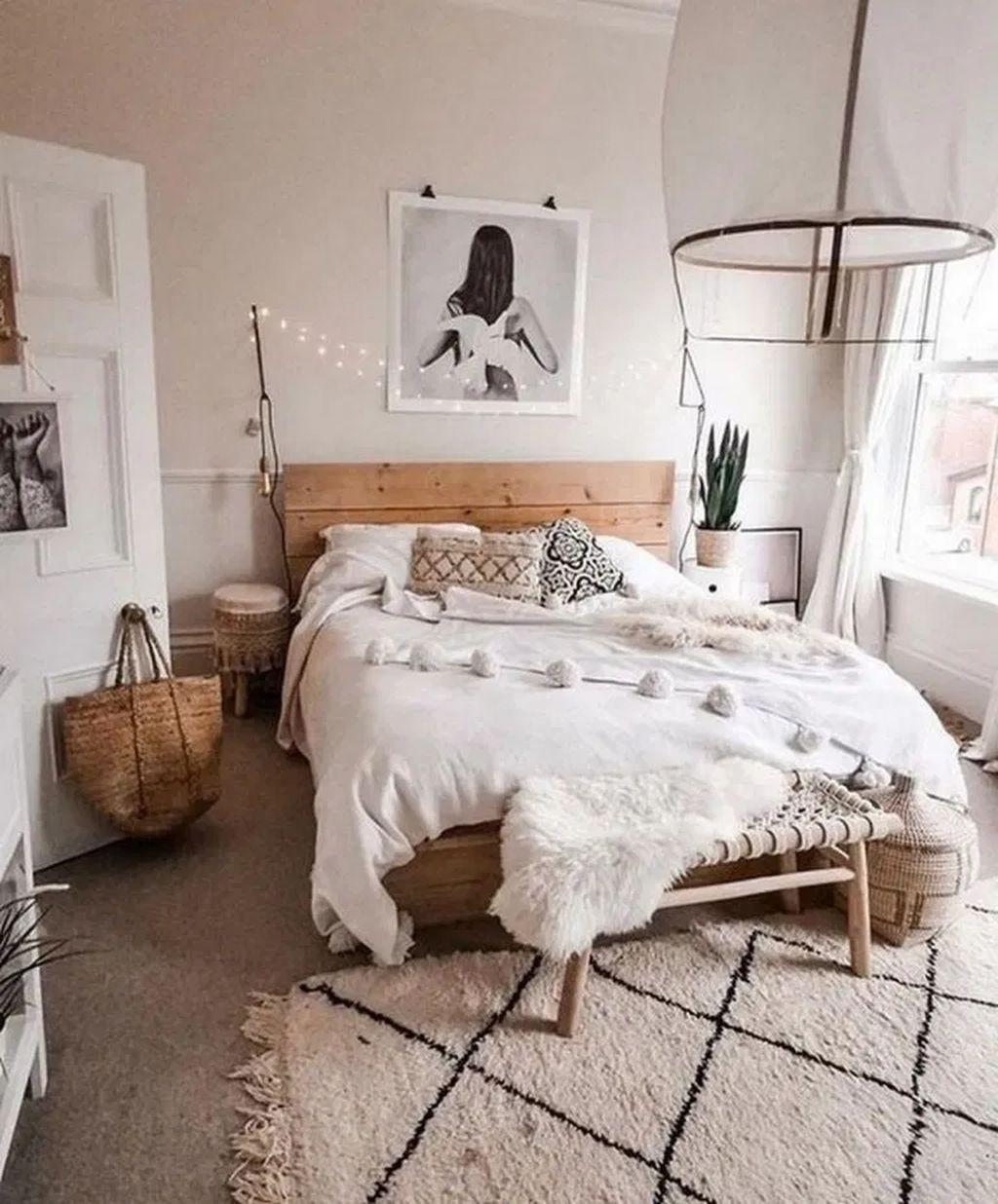30 Top Minimalist Bedroom Interior Design Ideas For Your Inspiration Simple Bedroom Bedroom Inspiration Boho Minimalist Bedroom Design