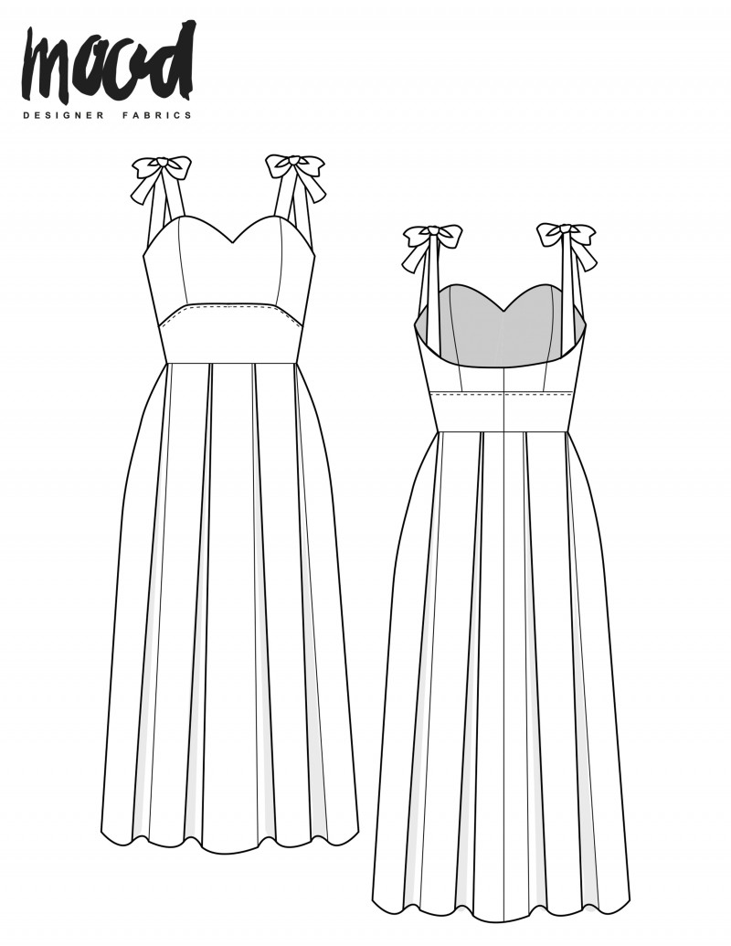 The Oleander Dress - Free Sewing Pattern