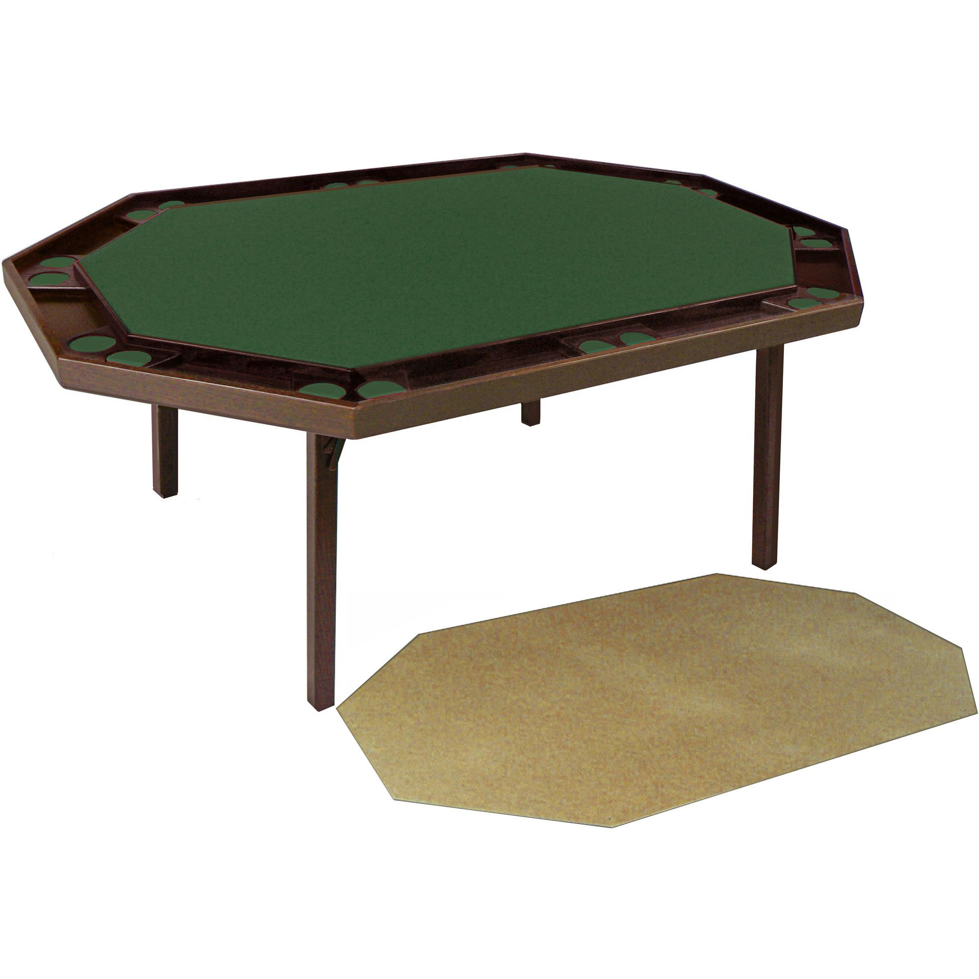Maple Deluxe Folding Poker Table Includes A Utility Service Top By Kestell M 872 Folding Poker Table Poker Table Poker Table For Sale