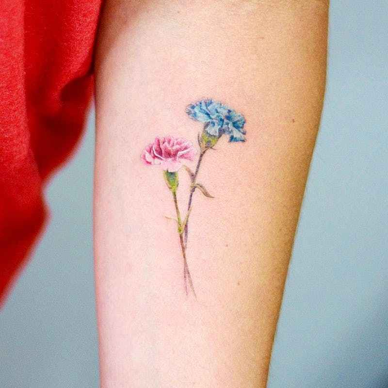 12 fascinating birth flower tattoos for each month of the