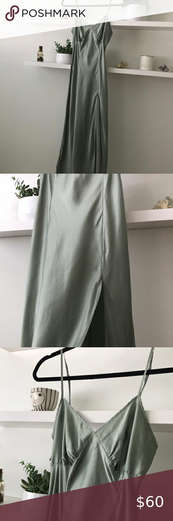 Victoria S Secret 100 Silk Slip Gown Maxi Dress S Maxi Gown Dress Silk Slip Maxi Slip Dress [ 1740 x 580 Pixel ]
