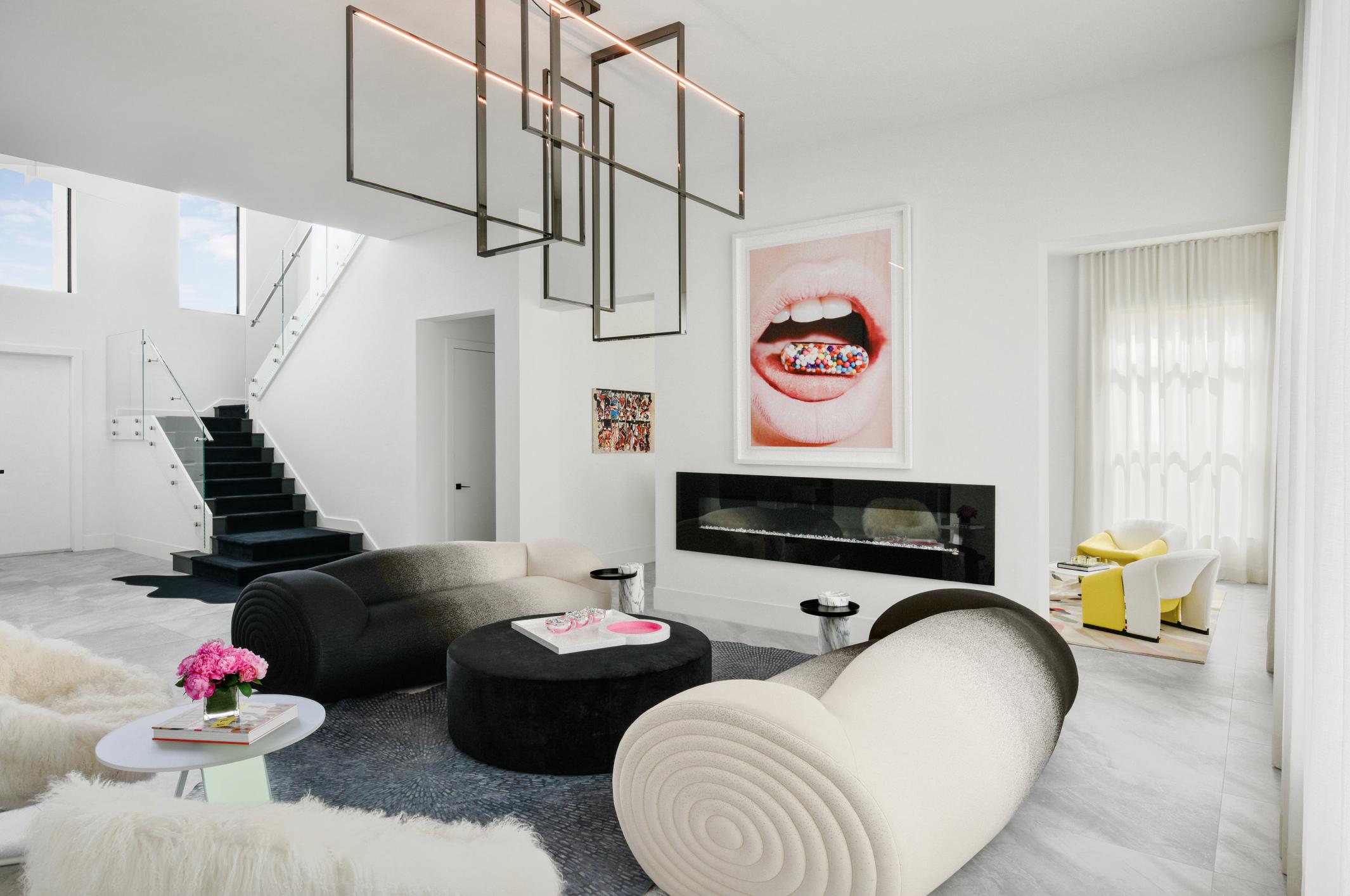 Living Room Designed By Melanie Morris Interiors Venicem Moroso Thesefinewalls Popofpink Shimmersidetable Interior Living Room Designs Formal Living Rooms
