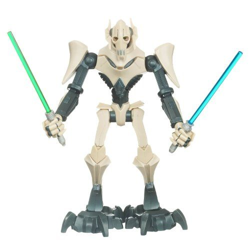Star Wars The Clone Wars Force Battlers General Grievous Figure To View Further For This Item Visit The Image Link Clone Wars Star Wars Toys Star Wars