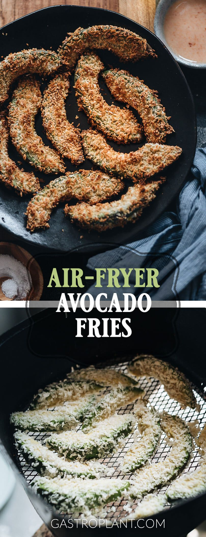 Air Fryer Avocado Fries They're exactly like they sound