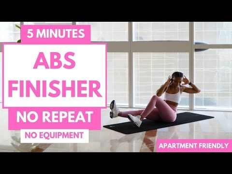 SHREDDED ABS Workout | 5 Minute Ab Finisher Challenge