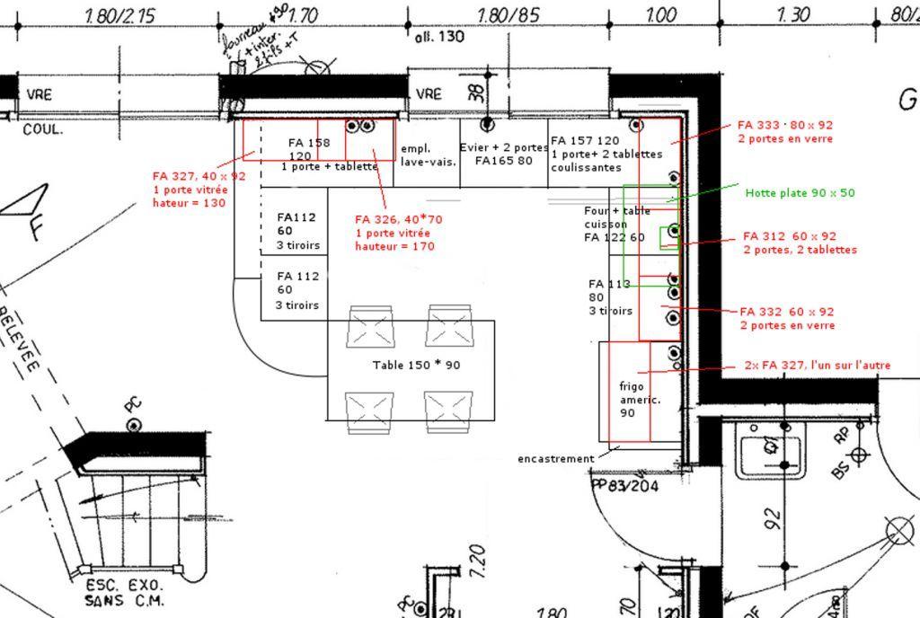 magnifique largeur meuble de cuisine d coration fran aise. Black Bedroom Furniture Sets. Home Design Ideas