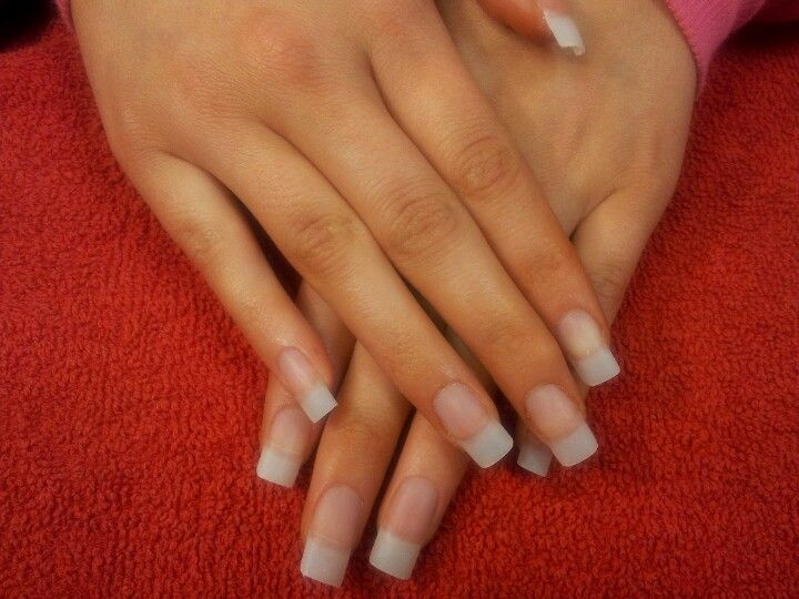 Natural nail extensions | Makeup/Nails | Pinterest | Natural nails ...