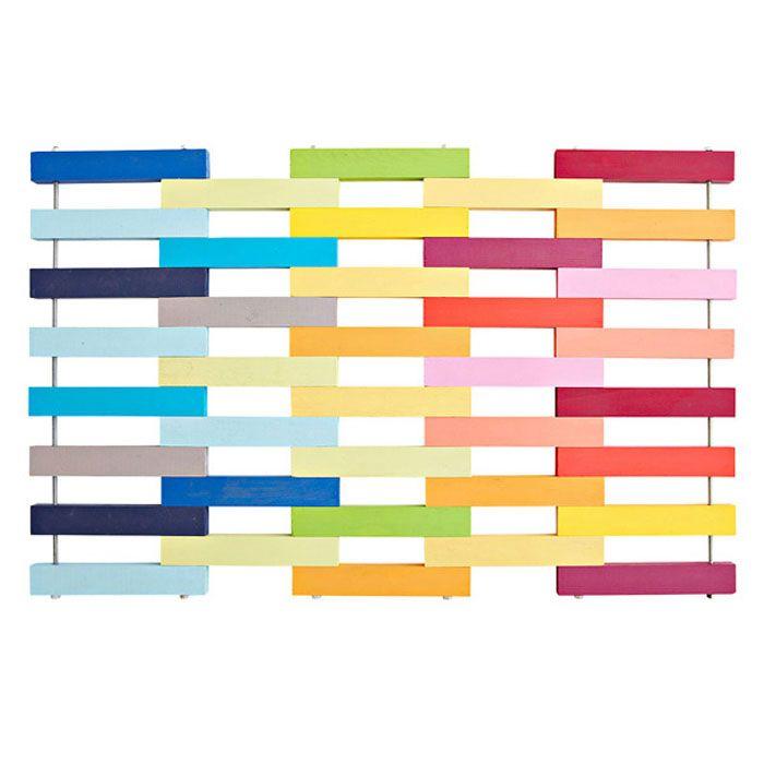 Beginneru0027s Project Doormat From Loweu0027s. Interesting As Rack For Wall, ...