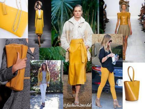 mustard fashion