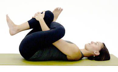 reclining half pigeon  all yoga poses