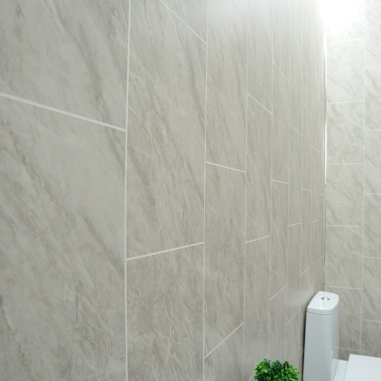 Grey Marble Bathroom Wall Panels Tile