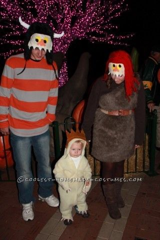 coolest where the wild things are costumes moishe and tzippy - Max Halloween Costume Where The Wild Things Are