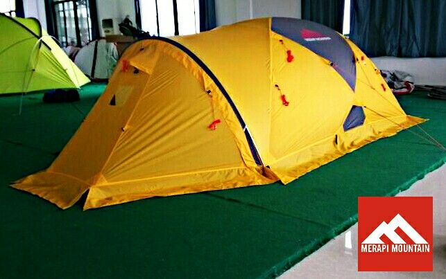 Expedition  5 seasons tent from Merapi Mountain. & Expedition