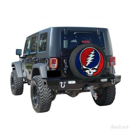 Grateful Dead Stealie Google Search Jeeps Spare Tire Covers