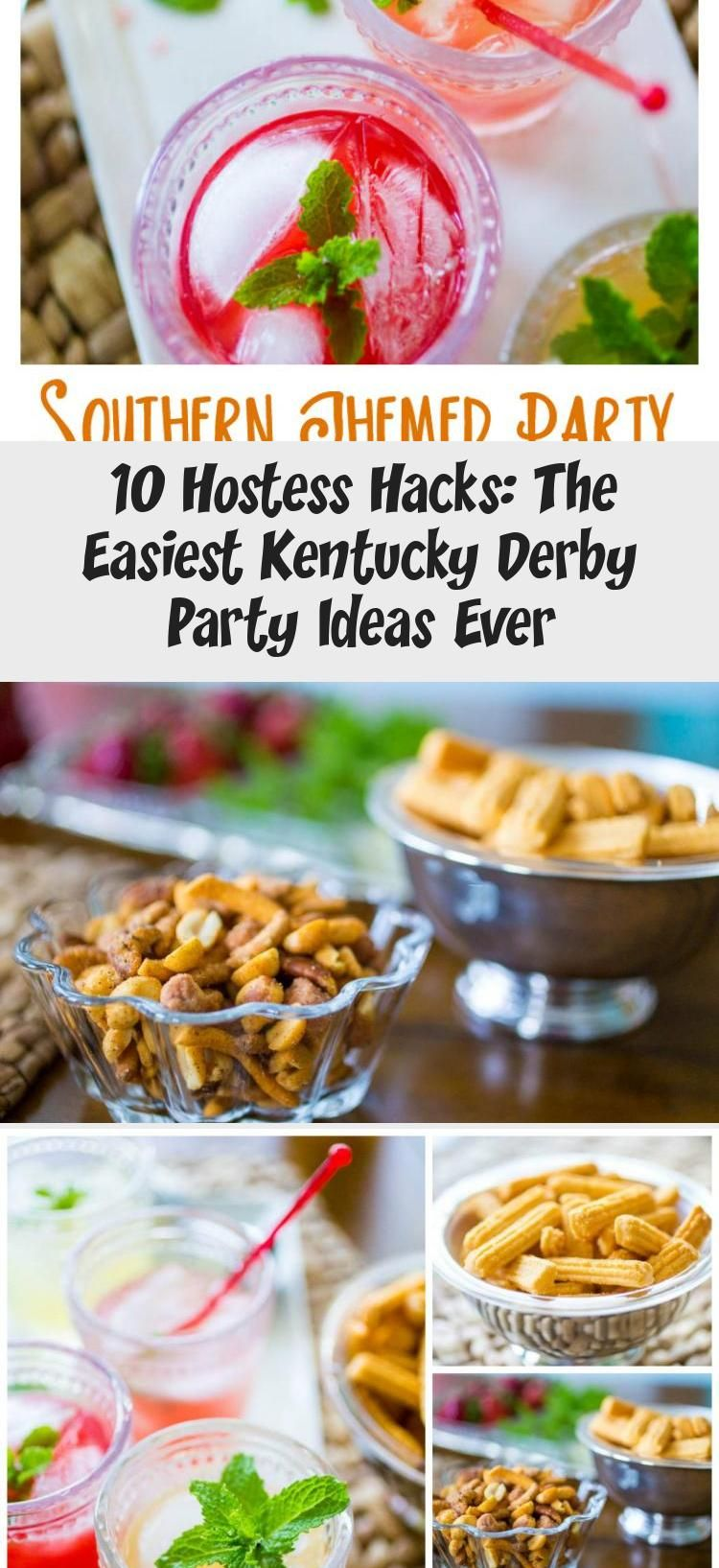 kentucky derby food and drink ideas