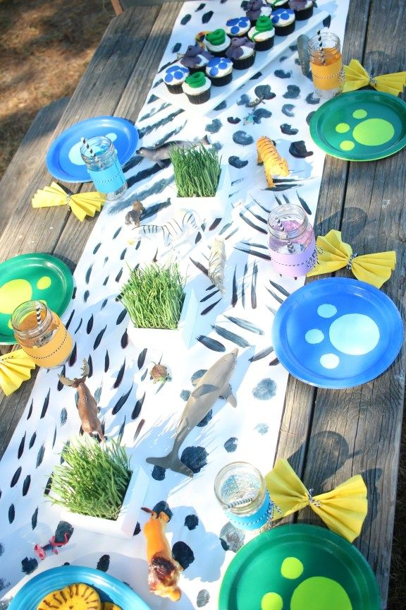 Wild Kratts Birthday Party: Owen Turns 6! - Ice Cream Off Paper Plates