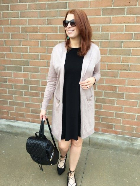 Swing dress +Link Up | Shop your closet by Jaymie Ashcraft