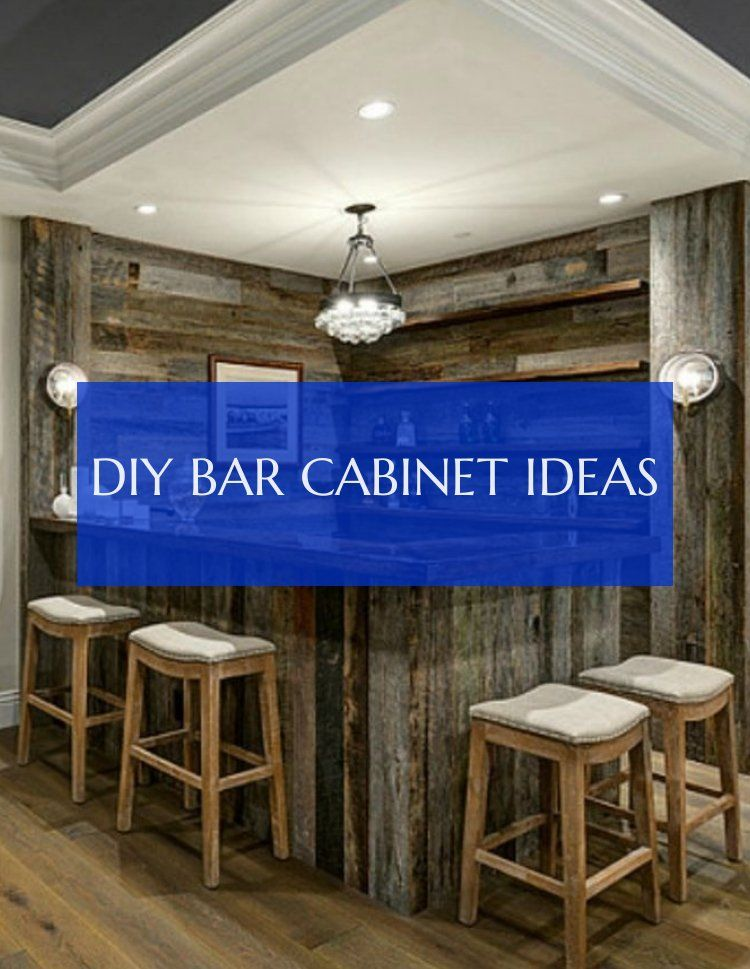 diy bar cabinet ideas