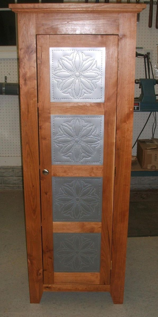 Punched Tin Pie Safe Pie Safe Punched Tin Jelly Cupboard
