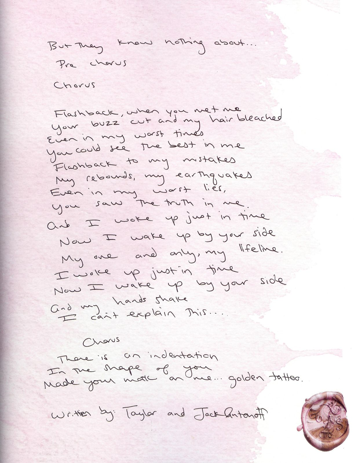 Image result for taylor swift lyrics to new year's day